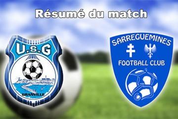 16èmes de finale de Coupe de France, le Sarreguemines Football Club affrontait Granville, en Normandie