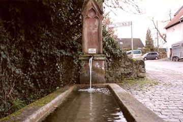 La plus ancienne fontaine de Niedergailbach