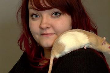Florine apporte beaucoup de bonheur à ses rats et vice-versa