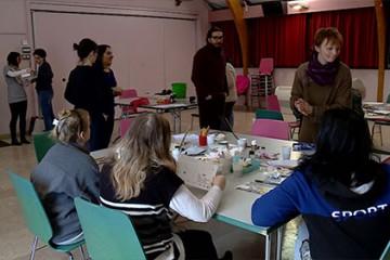2 artistes à la rencontre de Sarre-Union : le début d'une aventure artistique