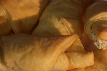 croissants au Boursin et saumon fumé