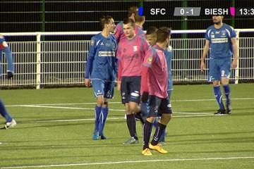 Sarreguemines Football Club avaient l'intention de prendre le maximum de points contre Bisheim