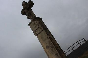 La croix du Hohléck. Une croix du 18e siècle de Kalhausen. Survivante de la révolutio