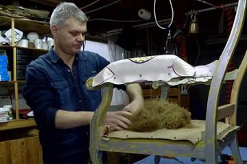 François Spannagel est compagnon tapissier-décorateur
