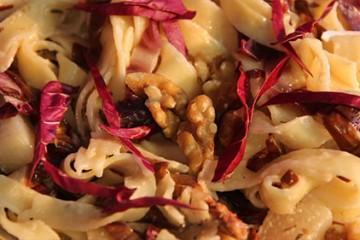 Tagliatelle à la poire et gorgonzola