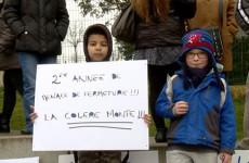 les parents d'élèves de l'école du Witz à Woustviller se mobilisent contre la fermeture annoncée de la quatrième classe