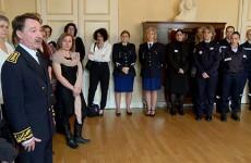 Le Sous-préfet de Sarreguemines rend hommage aux « femmes d'ordre » et aux « femmes de loi ».