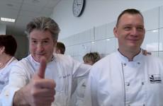 Michel Roth est le parrain du restaurant scolaire du collège de Sarralbe