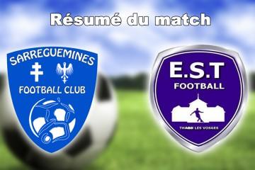 match de championnat entre Sarreguemines et Thaon