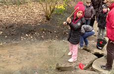 La pèche aux poissons d'avril au jardin des faïenciers a été particulièrement bonne.