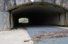 Un passage pas si secret sous le canal de la Sarre.
