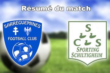 les footballeurs sarregueminois voulaient se relancer à domicile contre Schiltigheim
