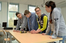 Les jeunes du Himmelsberg, la hackathon et le robot poubelle