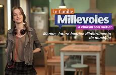 Manon, future factrice d'instruments de musique