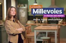 Amina, future ambulancière