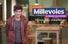 Dans la famille Millevoies, Thomas veut se lancer dans la chaudronnerie.
