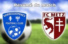 En championnat de CFA 2, les footballeurs de Sarreguemines et Metz se sont quittés sur un score de parité : deux buts partout