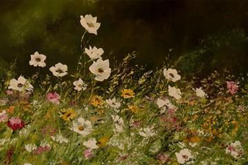 La nature et le plaisir de peindre sont les sources d'inspiration d'Evelyne Niesser