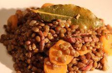 Salade de lentillons bio de la ferme Belair à Landroff