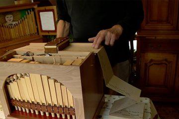 La naissance d'un orgue de barbarie 5ème partie: Le chemin de carton