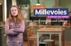 Anaïs, future toiletteuse pour animaux