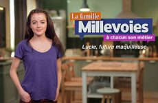 Lucie, future maquilleuse