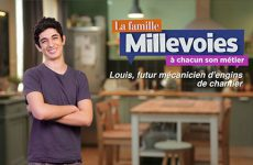 Louis, futur mécanicien d'engins de chantier