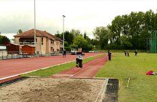 es élèves des écoles primaires de la CASC disputent actuellement les rencontres d'athlétisme USEP au stade Coubertin