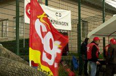 Les surveillants pénitenciers du centre de détention d'Oermingen mobilisés un meilleur entretien des locaux.