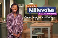 Justine, futur maître-restaurateur