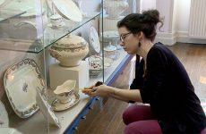 Evelyne, stagiaire au musée de la Faïence, a calculé 12 kilomètres