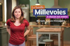 Myriam, future fromagère
