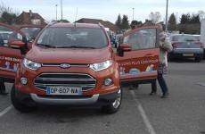 """Ford vous propose de prendre le volant pour aider les enfants ! Des essais gratuits de voitures pour contribuer à un don au profit de l'association """"Sourire à l'hôpital""""."""