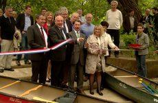 Les nouvelles installations aménagées sur les bords de la Blies ravissent les amateurs de canoë-kayak