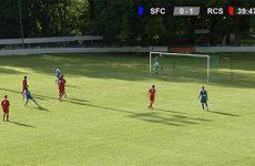 Le Sarreguemines Football Club conclut sa belle saison par une victoire contre le Racing Club de Strasbourg