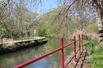 Blies-Guersviller, canal, Blies