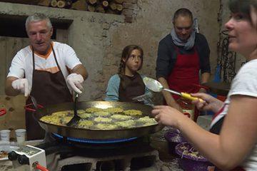 Caractéristique du village: la fête de la pomme de terre