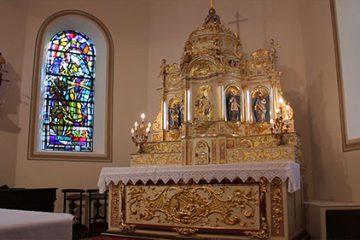 La Petite Histoire : L'autel de l'église de Roth