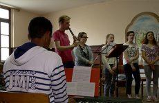 JMJ, Cracovie, Resurrexit, chorale
