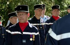 Fabrice Feicht, pompiers, Rouhling, adjudant-chef