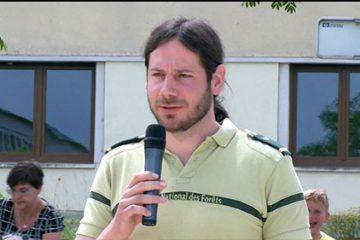 Mouchet Sylvain, Garde forestier