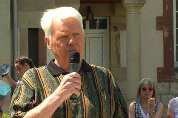 Daniel Schwartz, responsable de la fanfare Saint Pierre