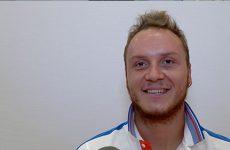 Nicolas Peifer, tout récent champion paralympique s'exprime au micro de Mosaïk