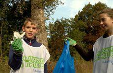 Les collégiens du Fulrad ont nettoyé la nature que d'autres personnes polluent sans scrupule