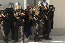 Pompiers, forces de l'ordre, élèves de l'IFSI et agents territoriaux étaient mobilisés pour un exercice de sécurité civile au coeur de la ville de Forbach