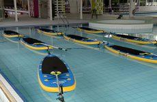 L'aqua stand up et l'aquakids sont deux nouvelles activités que vous allez pouvoir pratiquer au centre nautique communautaire de Sarreguemines