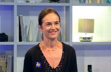 Fabienne Lorong, directrice du Carreau, évoque notamment le programme pour célébrer le 20ème anniversaire de la scène nationale de Forbach et de l'Est mosellan