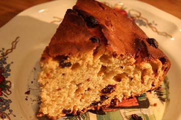 Gâteau Alsacien au kirsch bio des Vergers d'Arlette à Voellerdingen