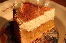 Gâteau au jus de pommes bio des Vergers d'Arlette à Voellerdingen