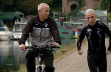 À l'entraînement comme en compétition, Michel Munch peut compter sur le soutien de son père